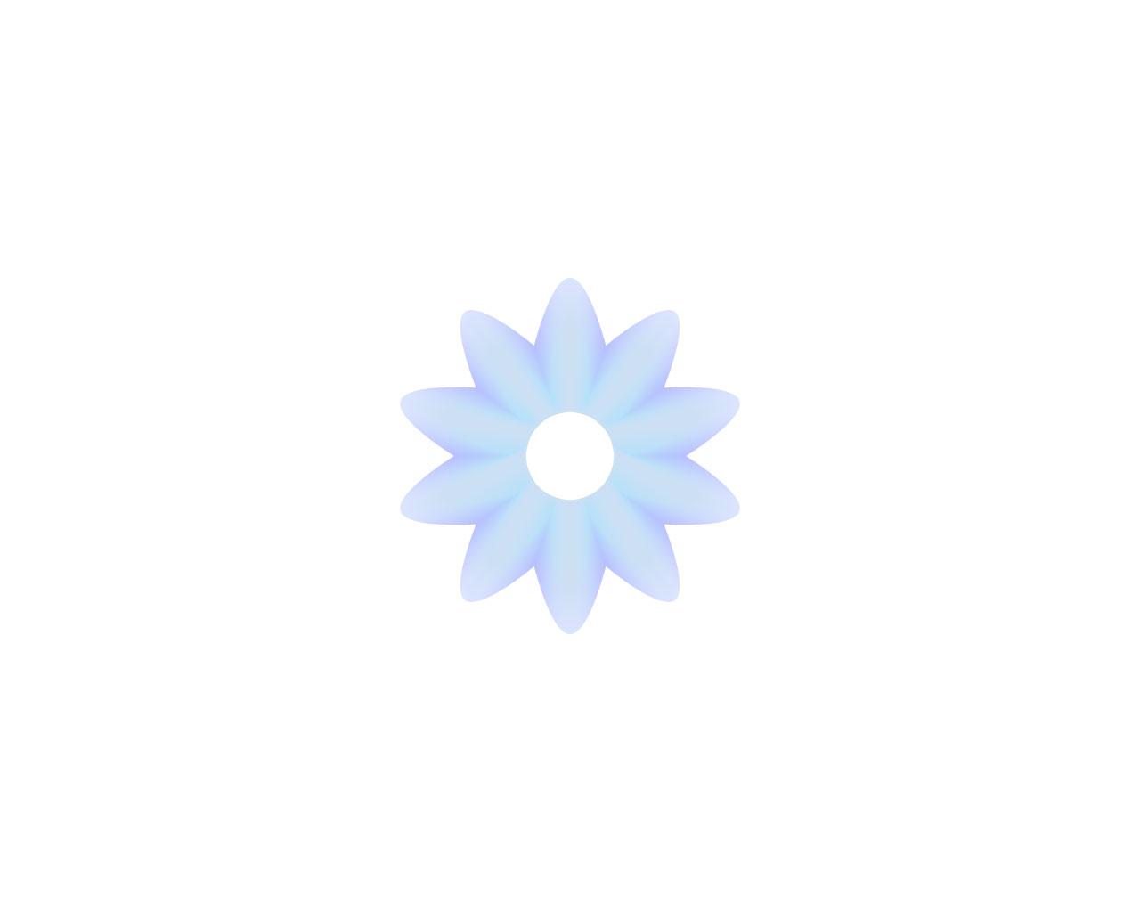 イラストレーターブレンドツールで印象的な花を描く方法