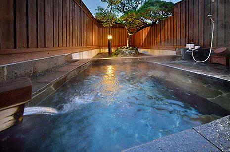 【松の間】客室露天風呂